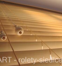 Żaluzje drewniane Żaluzja Drewniana